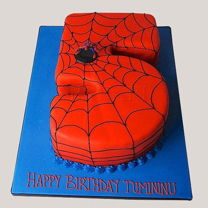 Spiderman Love Cake 3kg