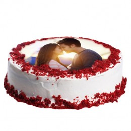 Red Velvet Photo Cake 1kg