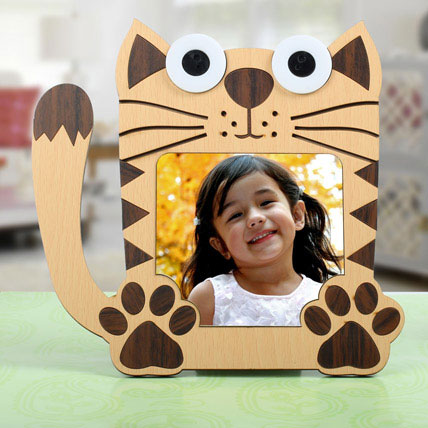 Meow Personalized Photo Frame