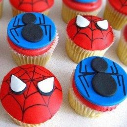 Meet the Spiderman Cupcakes 6