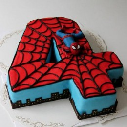 Spiderman Birthday Cake 3kg