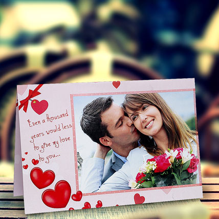 My Love Personalized Card