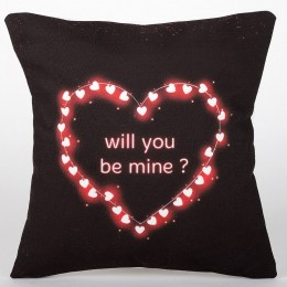Will You Be Mine LED Cushion