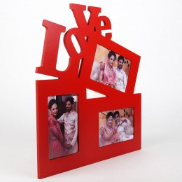 Love Red Photo Frame