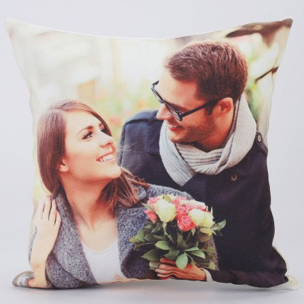 Personalised V Day Special Cushion
