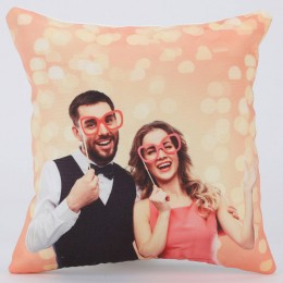 Personalised V Day LED Cushion