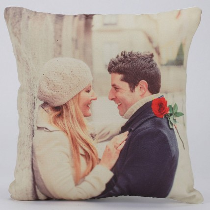 Valentines Day Special Personalised LED Cushion