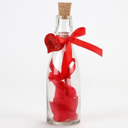 Kiss Day Message in a Bottle