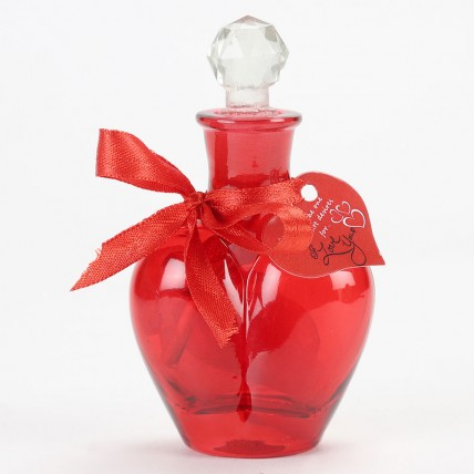 Kiss Day Message in a Red Bottle