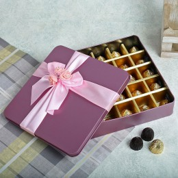 Assorted Chocolates Pink Box