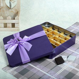 Assorted Chocolates Purple Box