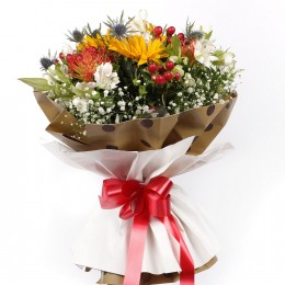 Alstroemeria Sunflower Bouquet