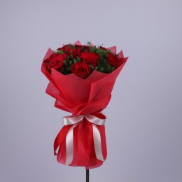 Red Passion Roses Bouquet