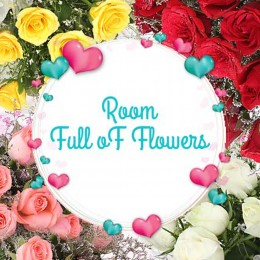 Room full of flowers