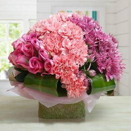 Attractive Pink Arrangement