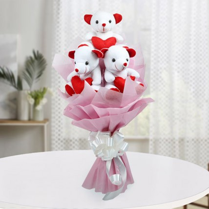 Cute Bouquet Of Teddy Bear