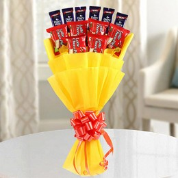 Chocolate Pie Bouquet