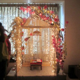 Illuminating Ganpati Decoration