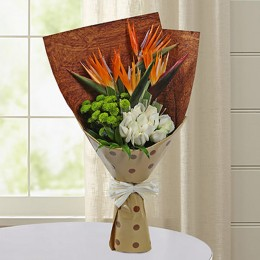 Bird Of Paradise Special Bunch