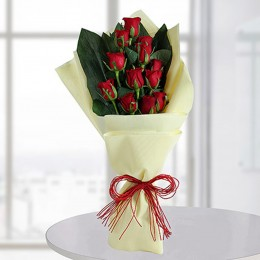 Sacred Red Roses Bunch