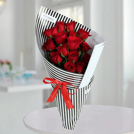Red Roses Bunch Of Love