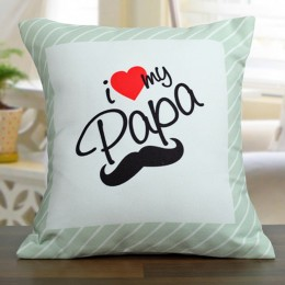 Love For Papa Cushion