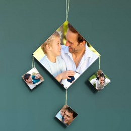 Diamond Shaped Personalized Wall Hanging