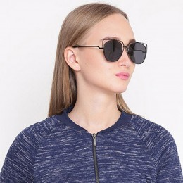 Black Cat Eye Unisex Sunglasses