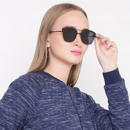 Black Wayfarer Unisex Sunglasses