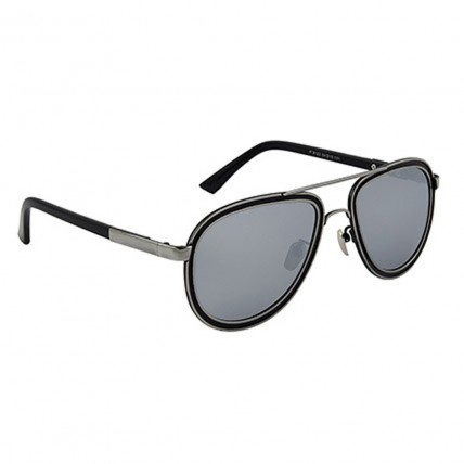 Oval Unisex Sunglasses Mirrored