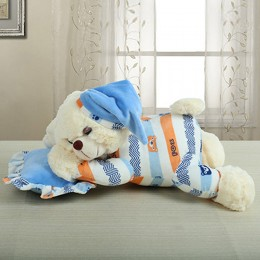 Blue Soft Bear