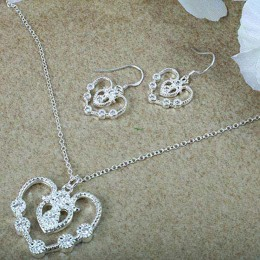 Silver Plated Jewellery Set