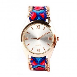 Dark Blue Bracelet Watch For Women