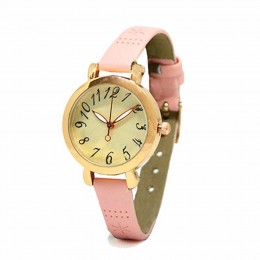 Dainty Pink Watch For Women