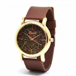 Brown Sparkle Watch For Women