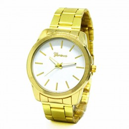 Chunky White Gold Watch For Women