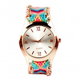 Multicolour Bracelet Watch For Women