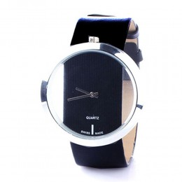 Futuristic Black Watch For Women