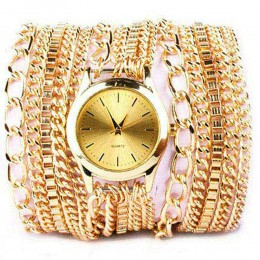 Gold Chain Watch For Women