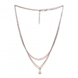 Single Pearl Silver Necklace