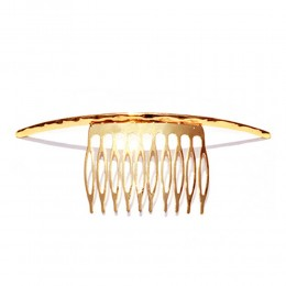 Gold Waves Metal Hair Ornament