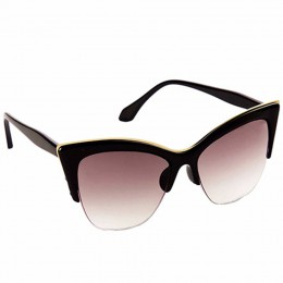 Moscow Black Cateye Sunglasses