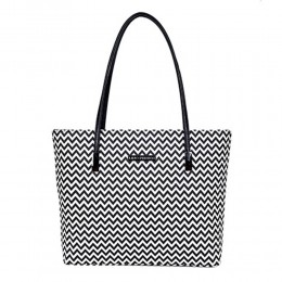 Lino Perros Chic Stylish Black N White Tote Bag