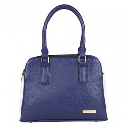 Blue Lino Perros Blue Satchel Handbag