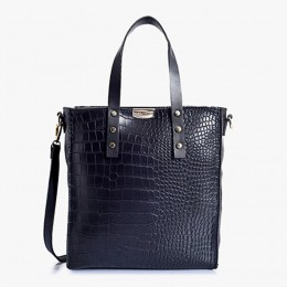 Lino Perros Sophisticated Black Handbag