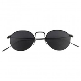 Black Retro Sunglasses Unisex