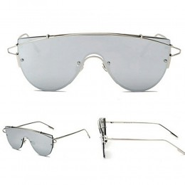 Silver Techno Sunglasses Unisex