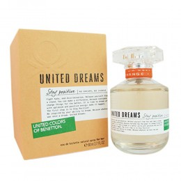 United Dreams Stay Positive For Women EDT Spray