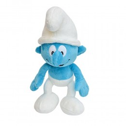 Standard Smurf Soft Toy with Chocolate