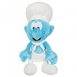 Cook Smurf Soft Toy with Chocolate